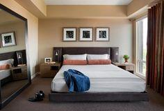 O quarto é um lugar para relaxar e ter uma boas horas de sono e por isso precisa ser aconchegante e ter um design agradável.