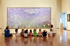 teaching children how to see what is going on in paintings