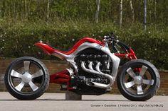 custom Motorcycle - Triumph Rocket III Concept Motorcycle  - Roger Allmond