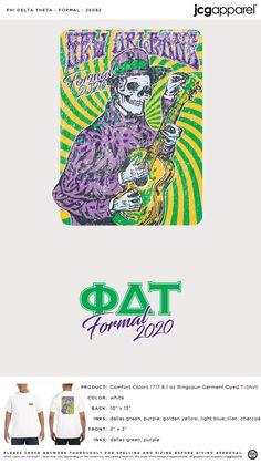 Phi Delta Theta Formal Shirt | Fraternity Formal | Greek Formal #phideltatheta #phidelt #Formal #skeleton #guitar