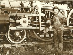 Old West Railroad Photos