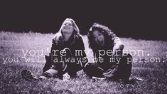 Christina & Meredith. my fav best friends