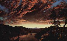 Twilight Wilderness, 1860, by Frederic Edwin Church