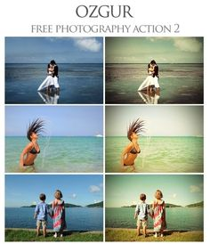 35 free actions for photoshop. Some are winners! by brigitte