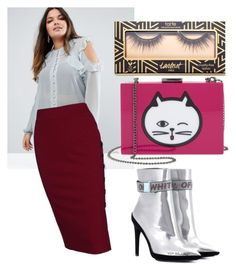 """#12"" by artloginovs on Polyvore featuring ASOS Curve, Off-White, Nordstrom and plus size clothing"