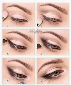 Rapid eye makeup