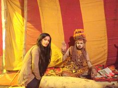 Poonam Pandey keeps her clothes on at Kumbh Mela