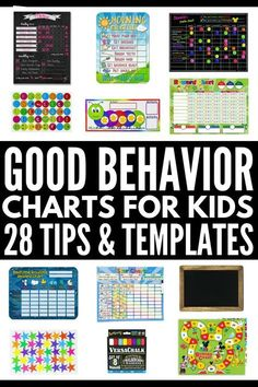 Good Behavior Charts: 28 Reward System Tips and Templates for Kids Good Behavior Charts for Kids Toddler Sticker Chart, Behavior Sticker Chart, Behavior Chart Preschool, Behavior Chart Toddler, Free Printable Behavior Chart, Classroom Behavior Chart, Child Behavior, Toddler Discipline, Behavior Chart For Preschoolers