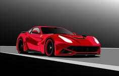 Ferrari drawing