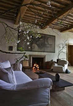 Rustic Italian Living Room - Inspirations - Renovating Italy