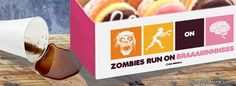 Zombies Run On Brains (with love to Dunkin Donuts)