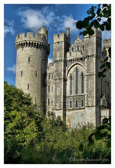 Arundel castle HDR 2 by Liuanta.deviantart.com on @deviantART