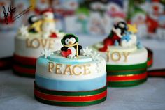 christmas cakes from Delectable by Su