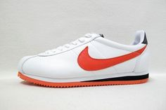 Orange Nike Cortez