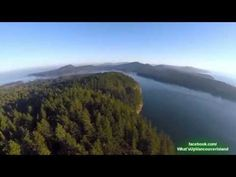 What's Up Vancouver Island flies 'Buzz' the flying camera, over two Galiano Island waterfront parks. Galiano is only a short car ferry ride away from Vancouv. Spring Air, Sky Sea, Come And See, Vancouver Island, Get Over It, River, Spaces, Park, Videos