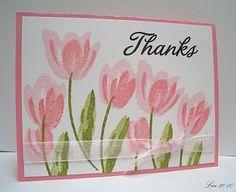 stampin up terrific tulips