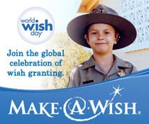 """4/25 """"The Talk"""" celebrates World Wish Day® and helped grant nine-year old Anastasia White's wish to sing on our stage. (Click pic to learn more about Make-A-Wish® grants)"""