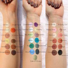 Colored Raine Eyeshadows | Jackie Riley Makeup