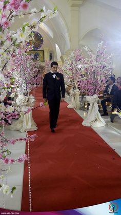 Amor and Eduardo's wedding
