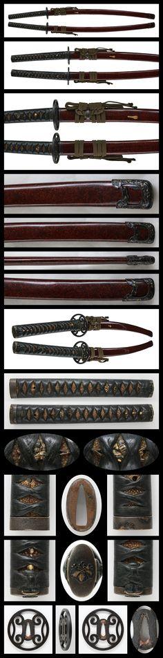 Katana : Himehanshi MInamoto Akitoshi Tsukurino/Keio 3rd Year February   Japanese Sword Shop Aoi-Art.