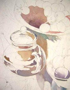 横浜の石川町で開講している特別講座で、静物画を描きました。 静物画はまずモチーフ選びに始まり、各々の質感や色の違い、それによる技法選択と、楽しさが尽きず... Watercolor Projects, Watercolor Artwork, Watercolor Landscape, Watercolor Illustration, Papier Paint, Fruit Painting, Painting Still Life, Painting & Drawing, Art Drawings
