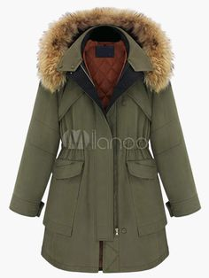 Long Fur Hooded Parka - Save Up to 70% Off on fabulous fashion trend products at Milano with Coupon and Promo Codes.