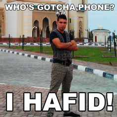This is the inspiring story of hafid from dubai, the douchebag who stole my phone. he forgot to switch off the camera upload function, that's why we will enjoy a deep insight into his life.  http://lifeofastrangerwhostolemyphone.tumblr.com/