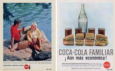 La coca-cola aplega a Espanya en els anys 20 però fins els anys 50 no va estar al alcans dels espanyols. En els anys 60 ja existien huit plantes embotelladores .