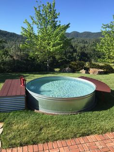 10x2 galvanized stock tank pool