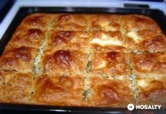 Hungarian Desserts, Hungarian Cuisine, Hungarian Recipes, Meat Recipes, Baking Recipes, Snack Recipes, Snacks, European Dishes, Good Foods To Eat