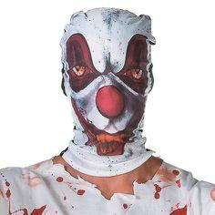 Creepy Clown Hood Mask - OrientalTrading.com