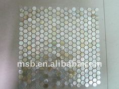 Mother of Pearl Tile light colored
