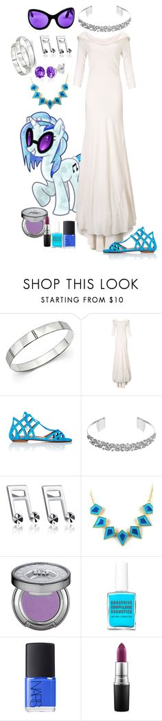 """Crystal Vinyl Scratch"" by lunar-exorcism ❤ liked on Polyvore featuring Ippolita, Ghost, Aquazzura, Crystal Allure, MaBelle, Emi Jewellery, Urban Decay, NARS Cosmetics, MAC Cosmetics and Belk & Co."