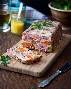 Donal Skehan's ham hock terrine is easy to prepare in advance and makes an impressive starter or lunch centrepiece.