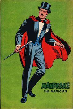 Mandrake the Magician: The Revised Edition - Comic Art Community Comic Book Characters, Comic Books Art, Comic Character, Fantasy Characters, Character Design, Comics Und Cartoons, Bd Comics, The Magicians, Magician Costume