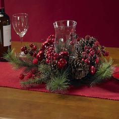 Holiday Candelabrum Centerpiece