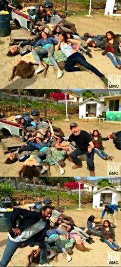 Fear The Walking Dead, Season 2, Episode 6, Sicut Cervus, BTS