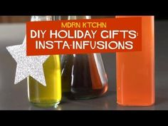 Make infused liquors, oils, and syrups in seconds instead of days