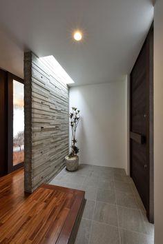 34 Trendy Home Dream Exterior Entrance Japanese Modern House, Japanese Home Design, Japanese Interior, Small Bathroom Interior, Natural Interior, House Entrance, Entrance Ideas, Home Design Plans, Trendy Home