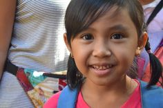 Our lovely student Pisi posing for a picture. #cute