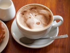 Special Latte (Must add that this is a fantastic photo, to photographer!)