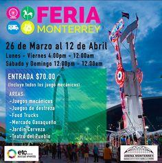 Feria de Monterrey 2015 en Arena Monterrey   FERIAS DE MÉXICO