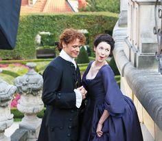 Caitriona Balfe & Sam Heughan - Outlander TV Series