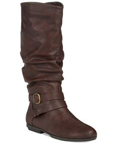 Seven Dials Diem Mid-Shaft Slouchy Boots - Boots - Shoes - Macy's