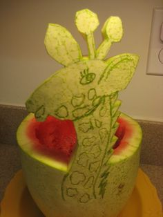 Watermellon Giraffe  :)