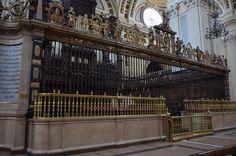 Zaragoza, Spain - Basilica of Our Lady of the Pillar Choir Grille