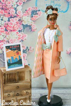 ooak silkstone vintage barbie couture fashion Sewing Barbie Clothes, Barbie Clothes Patterns, Barbie Skipper, Barbie Dress, Barbie Outfits, Crochet Barbie Patterns, Doll Patterns, Fashion Dolls, Couture Fashion
