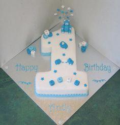 Number 1 Cake Boy cakepins.com