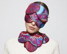 Шелковые маски «Калинов мост» Sleep Mask, Silk Scarves, Beauty, Beauty Illustration