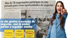 Éxito total da I Xornada de Negocios GDR Condado Paradanta.